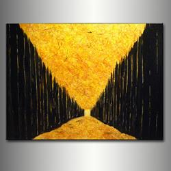 Art: DRY LEAVES 4 by Artist HENRY PARSINIA