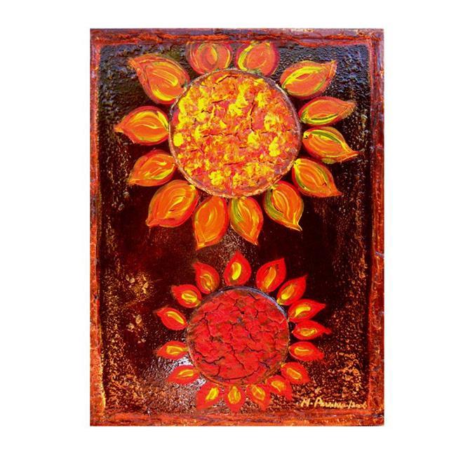 Art: SUN WORSHIPERS by Artist HENRY PARSINIA