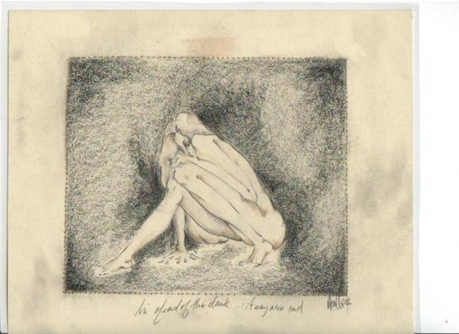 Art: crouch by Artist Noelle Hunt