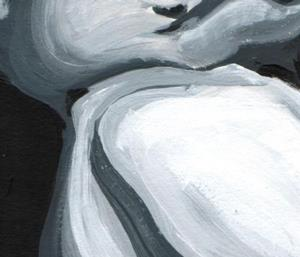 Detail Image for art black and white nude