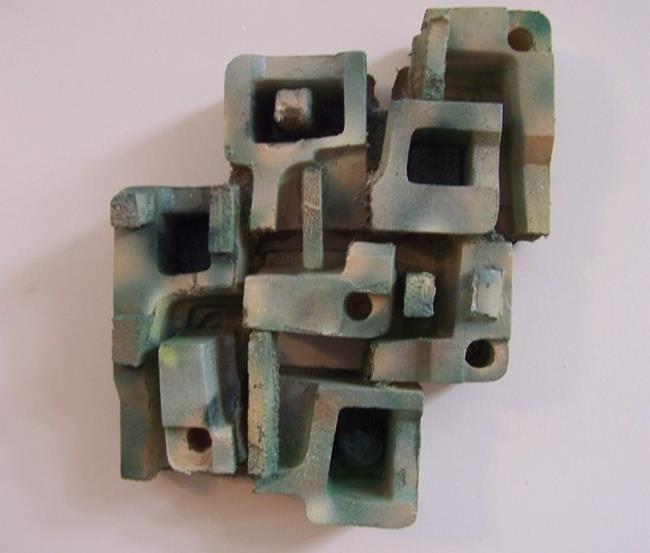 Art: Green Sandstone  SOLD by Artist Shirley Jean