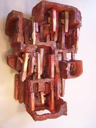 Art: Rust SOLD by Artist Shirley Jean
