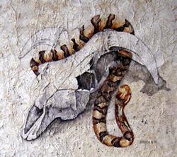 Art: Hide and Seek by Artist victoria kloch