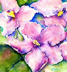 Art: Pretty in Pink - private collection by Artist victoria kloch