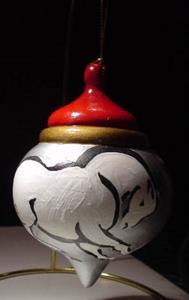 Detail Image for art Horse for christmas