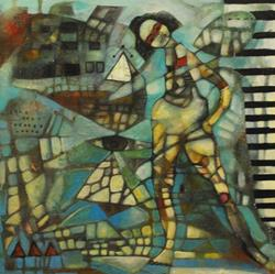 Art: Sound of the Pyramids by Artist JILL FALK