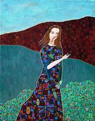 Art: Garden Walk by Artist Tau