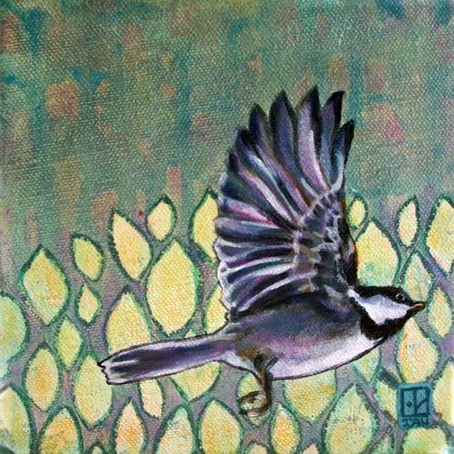 Art: Chickadee Dreams by Artist Tau