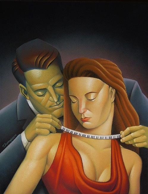 Art: Necklace by Artist John Thompson