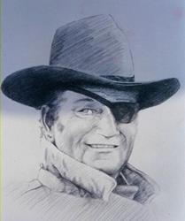 Art: the duke by Artist Lesa Fitch Keirsey