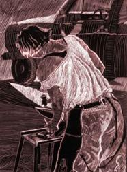 Art: Lady Horseshoer by Artist Naquaiya