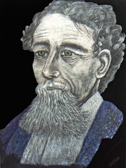 Art: Charles Dickens by Artist Naquaiya