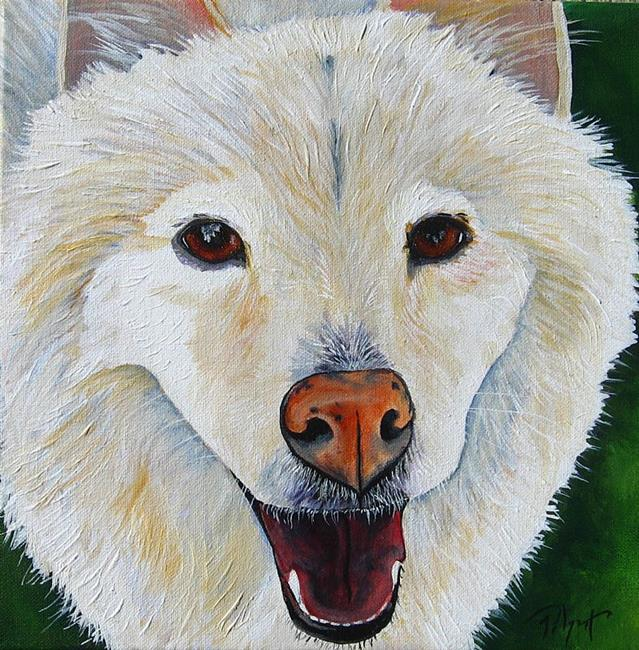 Art: Kha Pet Portrait by Artist Padgett Mason