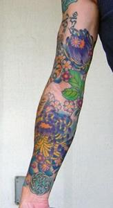 Detail Image for art Self Portrait with Tattoo Sleeves