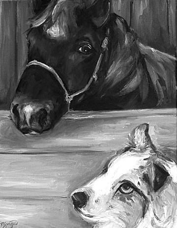 Art: WindChill and Walker by Artist Deborah Sprague