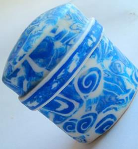 Detail Image for art Polymer clay Little Blue Box