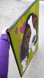 Detail Image for art Blanket ears