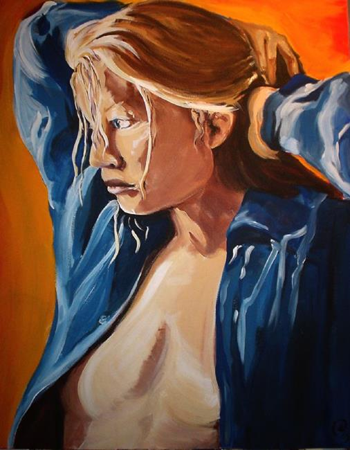 Art: Dawn White  by Artist Noelle Hunt