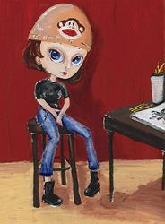 Art: Wicked Dollz by Artist Noelle Hunt