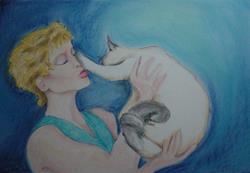 Art: Tracey Greene & Vinny true love by Artist Noelle Hunt