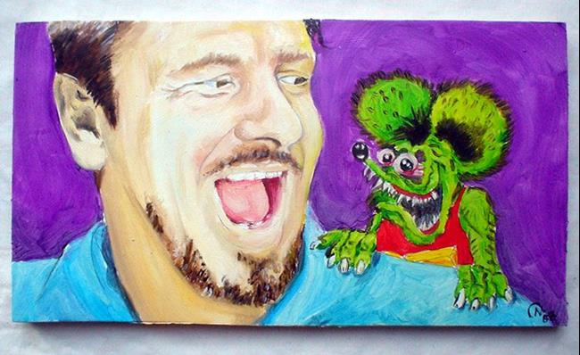 Big Daddy Roth Rat Fink By Noelle Hunt From Portraits