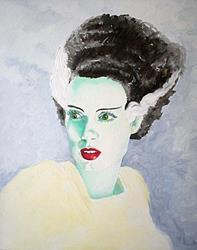 Art: The Bride by Artist Noelle Hunt