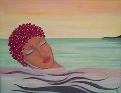 Art: The Swim Cap by Artist Marina Owens