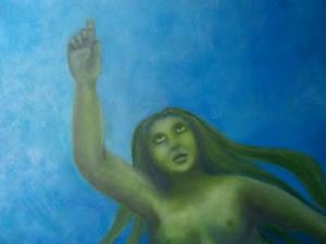 Detail Image for art The Rotund Mermaid