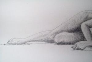Detail Image for art Nude on the Beach