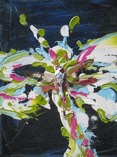 Art: frank the dragon by Artist zeuxis ~ LA Hollins ~z