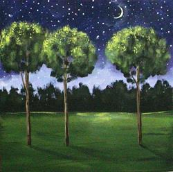 Art: Twilight Time by Diane Funderburg Deam