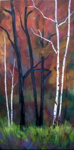 Detail Image for art Oaks and Aspens