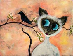 Art: Temptation by Artist Diane Funderburg Deam