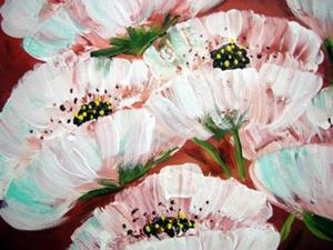 Detail Image for art Ghost Poppies 08