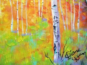 Detail Image for art Autumn Aspens