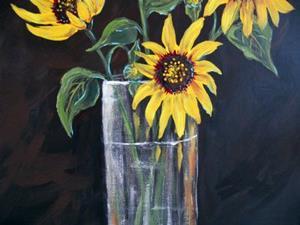Detail Image for art Sunflowers for Manet