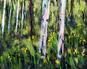 Detail Image for art Hart Prarie Aspens