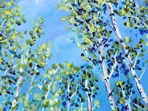 Detail Image for art Aspens Grove on 240 AZ