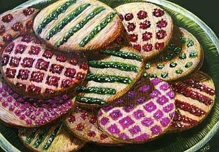 Art: Sugar Cookies by Artist Naquaiya