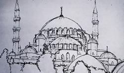 Art: Hagia Sophia by Lisa Thornton Whittaker