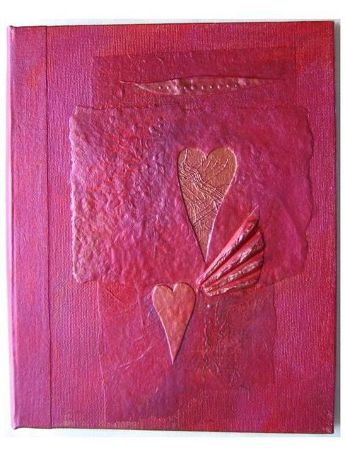 Art: Heartstrings Journal by Artist Elis Cooke