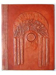 Art: Rust Arch Handmade Journal by Artist Elis Cooke