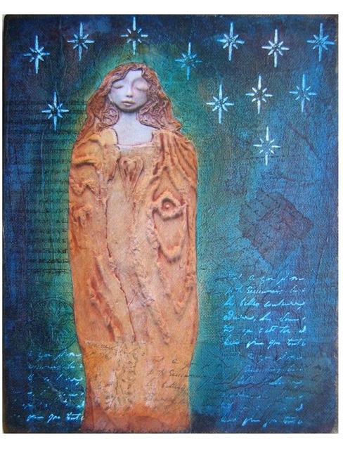 Art: Written in the Stars by Artist Elis Cooke