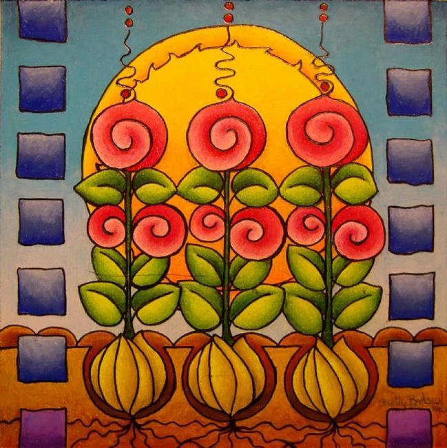 Art: Promise of Spring by Artist Shelly Bedsaul