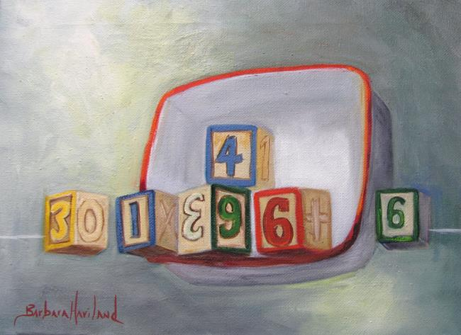 Art: Blocks and Porcelain by Artist Barbara Haviland