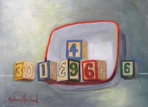 Detail Image for art Blocks and Porcelain