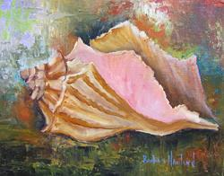 Art: 10x8 SeaShell 001.JPG by Artist Barbara Haviland