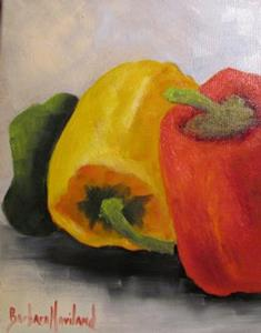 Detail Image for art Bell Peppers Three Again