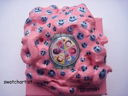 Art: Sweet Baby swatch watch art (sold) by Artist PJ Gorman