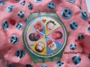 Detail Image for art Sweet Baby swatch watch art (sold)